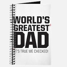 Wolrd's Greatest Dad, it's true we checked! Journa