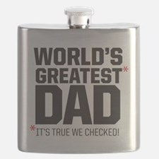Wolrd's Greatest Dad, it's true we checked! Flask