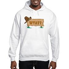 Wyatt western Hoodie Sweatshirt