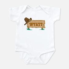 Wyatt western Onesie