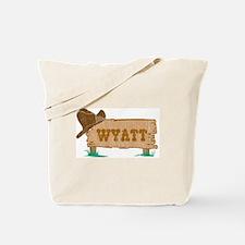 Wyatt western Tote Bag
