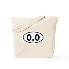 0.0 and 2.6 Tote Bag