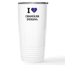 I love Chandler Indiana Travel Mug