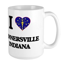 I love Connersville Indiana Mugs