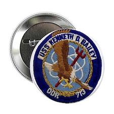 """USS KENNETH D. BAILEY 2.25"""" Button"""