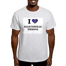 I love Ellettsville Indiana T-Shirt
