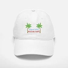 Tropical Wedding Party Baseball Baseball Cap