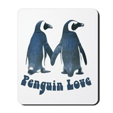 Penguin Love Mousepad
