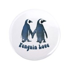 Penguin Love Button