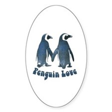 Penguin Love Decal