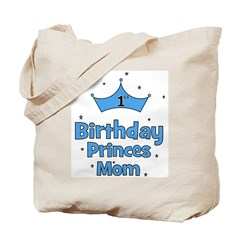 CUSTOM - 1st Birthday Prince! Tote Bag