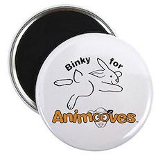 """Binky for Animooves 2.25"""" Magnet (10 pack)"""