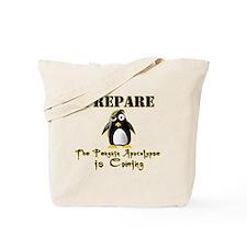 The Penguin Apocalypse Tote Bag