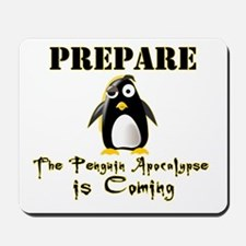 The Penguin Apocalypse Mousepad