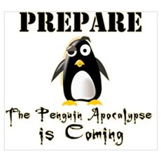 The Penguin Apocalypse Poster