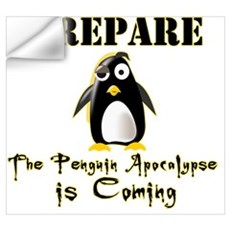 The Penguin Apocalypse Wall Decal