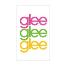 Glee Three Color Decal