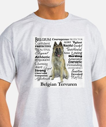 Belgian Tervuren Traits T-Shirt