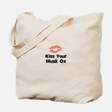 Kiss Your Musk Ox Tote Bag