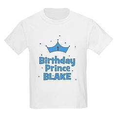 CUSTOM - 1st Birthday Prince! T-Shirt
