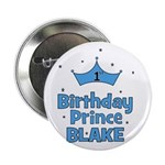 CUSTOM - 1st Birthday Prince! Button