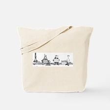 """""""Artist, please help"""" Tote Bag"""