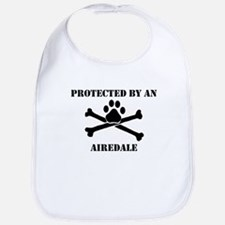 Protected By An Airedale Bib