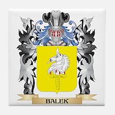 Balek Coat of Arms - Family Crest Tile Coaster