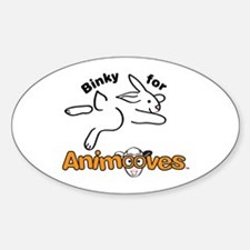 Binky for Animooves Decal