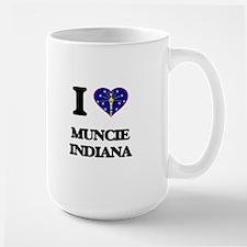 I love Muncie Indiana Mugs