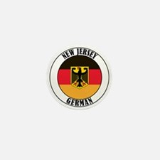 New Jersey German Mini Button (10 pack)