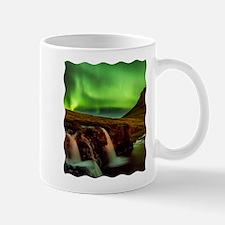 Wild Skies over Iceland Mugs