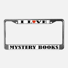 Mystery Lover License Plate Frame