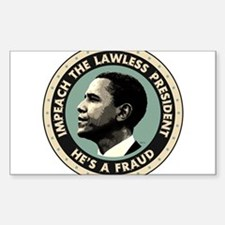 Cool Obama is a tyrant Decal