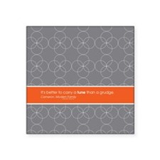 "Modern Family Carry a Tune Square Sticker 3"" x 3"""