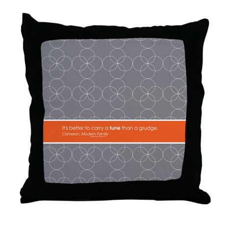 Modern Family Pillows On Couch : Modern Family Carry a Tune Throw Pillow by ModernFamilyTV