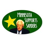 Minnesota Supports Sanders Sticker