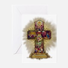 Easter Cross Greeting Cards