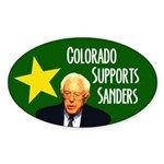 Colorado Supports Sanders Bumper Sticker