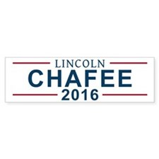 Lincoln Chafee 2016 Bumper Car Sticker
