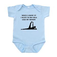 Do Yoga Like My Mommy Body Suit