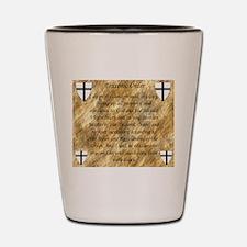 Teutonic Order Shot Glass