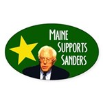 Maine Supports Sanders Bumper Sticker