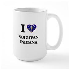 I love Sullivan Indiana Mugs