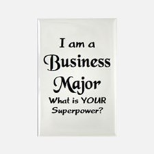 business major Rectangle Magnet