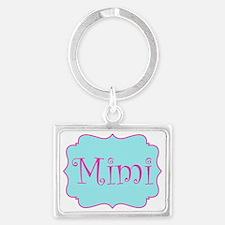 Cute Mimi Landscape Keychain