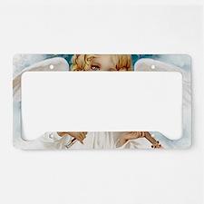 Heavenly Angel & Violin License Plate Holder