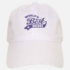 World's Best Mimi Baseball Baseball Cap