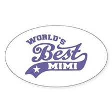 World's Best Mimi Decal