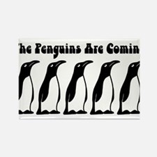 The Penguins Are Coming Magnets